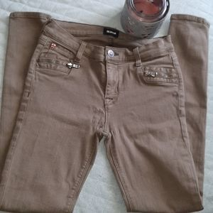 Hudson army green jeans